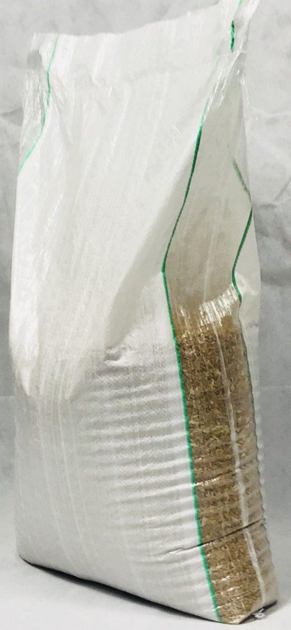 Sacchi in rafia di polipropilene con lato trasparente