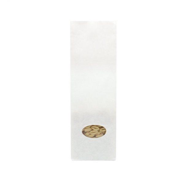 Sacchetto in carta Bianco con finestra 1kg 1.500pz